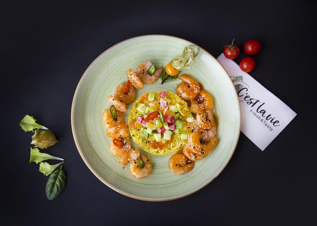 Ресторант C'est la vie – скрито съкровище извън центъра