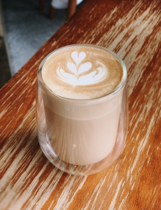 Where can we drink our coffee with plant milk?