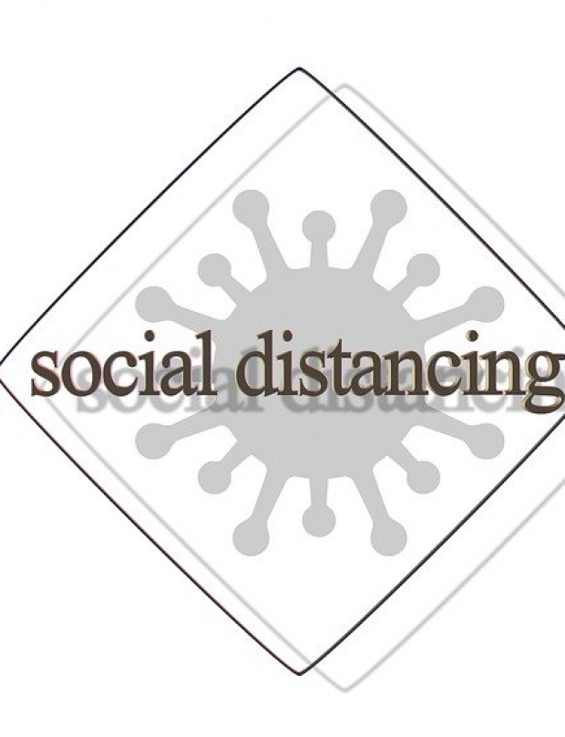 How to practice social distancing during a state of emergency?