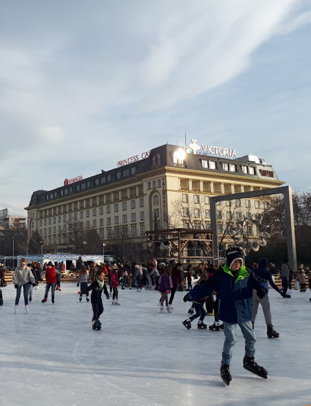 The ice rink in Plovdiv ( photo gallery)