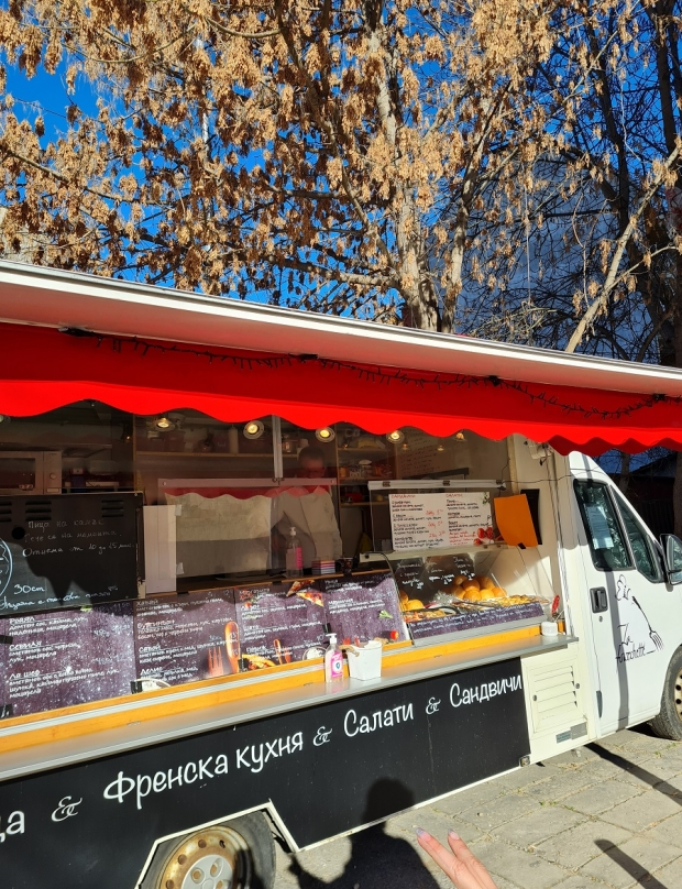 La fourchette – the pizza truck in the central part of Plovdiv
